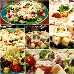 ensalada césar destilería capone restaurante zaragoza