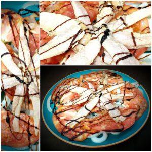 ensalada de ventresca destilería capone restaurante zaragoza