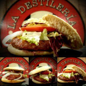 hamburguesa big capone vaca patatas fritas restaurante zaragoza