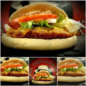 hamburguesa big capone pollo restaurante zaragoza